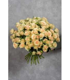 Монобукет из 21 кустовой розы